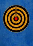 蓝色目标 免版税库存图片