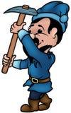 蓝色矮人 免版税库存照片