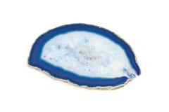 蓝色矿物 免版税库存图片