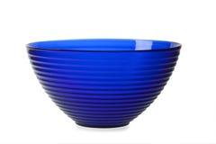 蓝色碗 库存照片