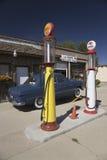 1950蓝色福特 免版税库存照片