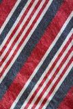 蓝色空白棉花红色的数据条 库存照片