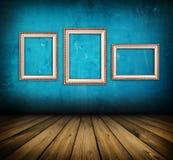蓝色空间 免版税库存照片