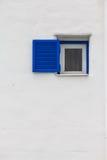 蓝色窗口 免版税库存图片