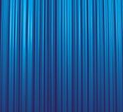 蓝色窗帘冰 向量例证