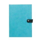 蓝色笔记本 免版税库存图片