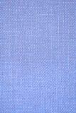 蓝色粗麻布纹理 免版税库存图片