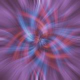 蓝色红色漩涡 库存照片