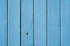蓝色纹理木头 免版税库存图片