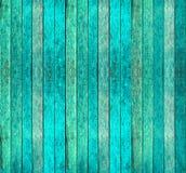 蓝色纹理木头 免版税库存照片