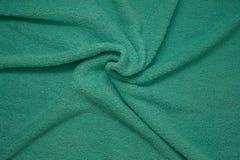 蓝色纹理毛巾 库存图片