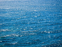 蓝色纹理水 免版税图库摄影