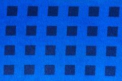 蓝色织品仿造了 免版税库存图片