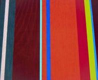 蓝色织品红色镶边了 免版税库存照片