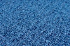 蓝色织品纹理 抽象背景,空的模板 库存图片