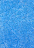 蓝色织品纹理 库存图片