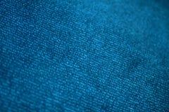 蓝色织品 免版税库存图片