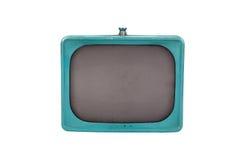 蓝色经典电视 免版税库存照片