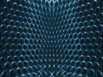 蓝色结构 库存图片