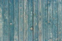 蓝色绘了木板条,背景,纹理 免版税库存图片