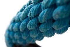 蓝色绳索 图库摄影