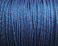 蓝色绳索 库存图片