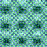 蓝色编织的布料纹理 免版税图库摄影