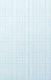 蓝色网格纸张缩放比例 免版税库存图片