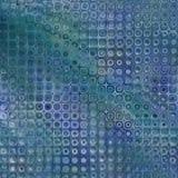 蓝色网格grunge 图库摄影