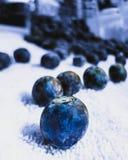 蓝色美妙 免版税库存照片