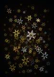 蓝色聚星 库存照片