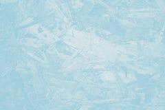 蓝色背景,与蓝色屏幕的木墙纸 库存图片