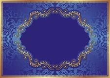 蓝色背景 免版税图库摄影