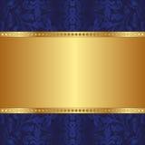 蓝色背景 免版税库存图片