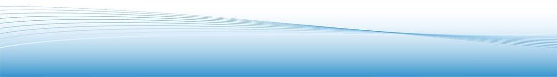 蓝色能源通知 库存图片