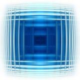 蓝色脉冲 库存照片
