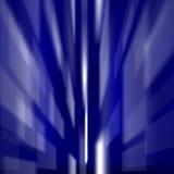 蓝色色的正方形 向量例证