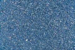 蓝色花岗岩石渣 库存照片