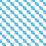 蓝色花纹花样传染媒介 免版税图库摄影