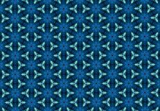 蓝色花纹花样墙纸 免版税库存照片