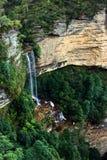 蓝色落katoomba山国家nsw公园 库存图片