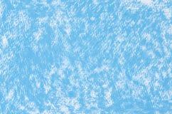 蓝色蜡笔画背景纹理 库存照片