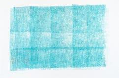 蓝色蜡笔画背景纹理 库存图片