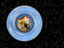 蓝色行星 免版税图库摄影