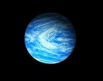 蓝色行星 库存例证