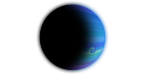 蓝色行星 图库摄影