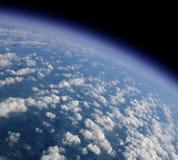 蓝色行星 免版税库存图片