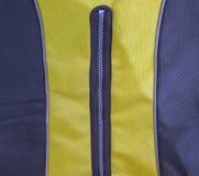 蓝色衣物概念黄色邮政编码 库存照片