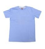 蓝色衬衣 免版税库存图片