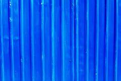 蓝色被刺激的金属 库存图片